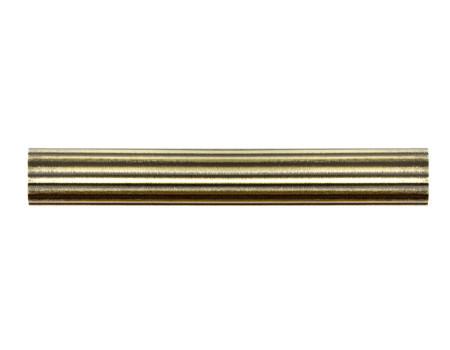 Труба для карнизу рифлена 19мм, антик