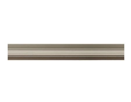Труба для карнизу рифлена  19мм, сатин