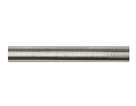 Труба для карнизу гладка 25мм, сталь