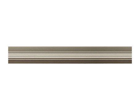 Труба для карнизу рифлена  25мм, сатин