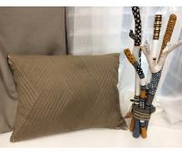 Подушка Фетр коричневый