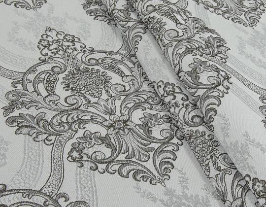 Портьєрна тканина Aler A-13 коричневий, сірий