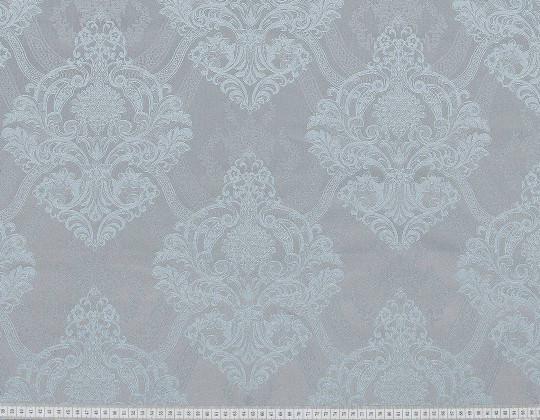 Портьєрна тканина Aler A-13 сіро-блакитний/пісок