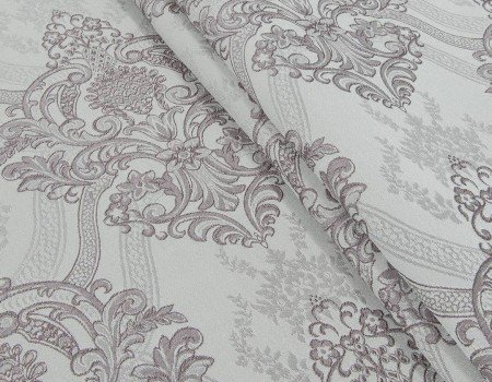 Портьєрна тканина Aler A-13 фрез/темно сірий