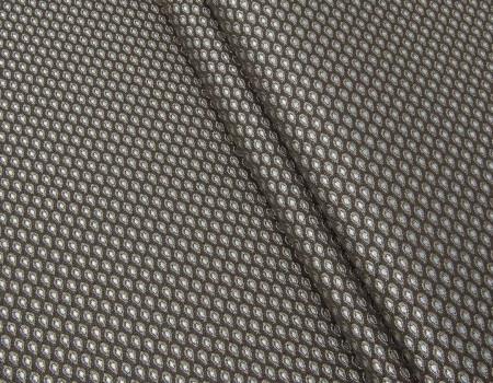 Портьєрна тканина Domin D1 горох коричневий