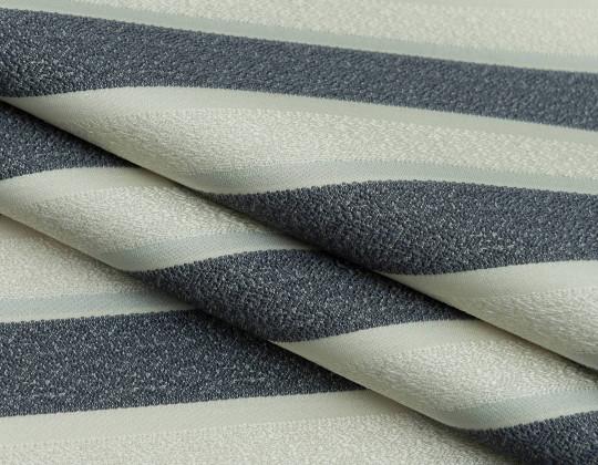 Портьєрна тканина Domin PL14 т.сірий, крем