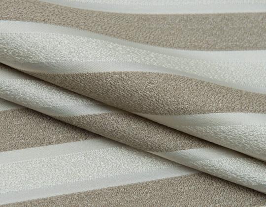 Портьєрнатканина Domin PL-14 смужка пісок, беж