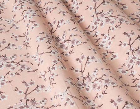 Декоративна тканина Сакура, рожева