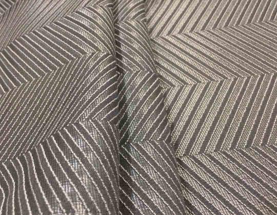 Тканина для штор Mira ялинка сірий| Студія штор та текстилю «дОМа»