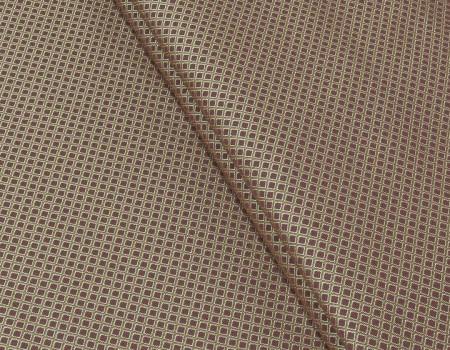 Портьєрна тканина Риф ромб, FA-13 червоний