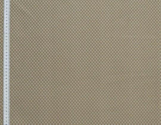 Портьєрна тканина Риф ромб, FA-13 бежевий