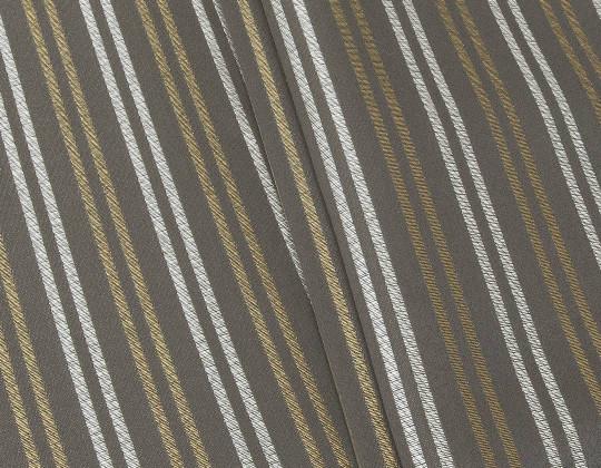 Портьєрна тканина Риф смужка, FA-13 коричнева
