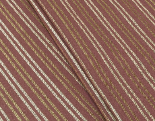 Портьєрна тканина Риф смужка, FA-13 бордо