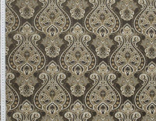 Портьєрна тканина Риф вензель, FA-13 коричневий