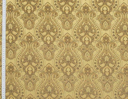 Портьєрна тканина Риф вензель, FA-13 золото