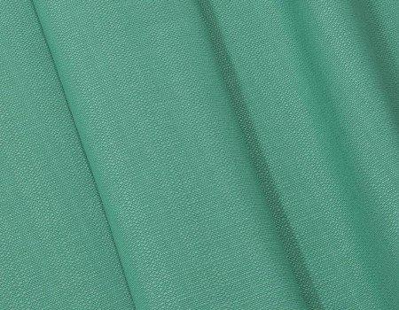 Портьєрна тканина Рогожка R-1 зелена бірюза