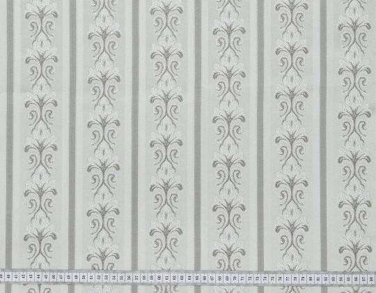 Портьєрна тканина Сеше смужка PL-13 сірий