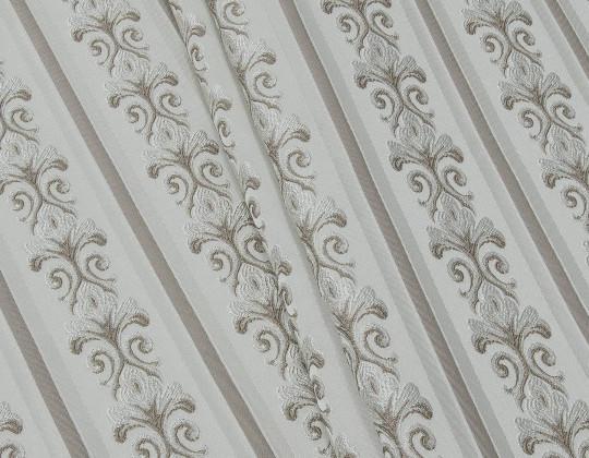 Портьєрна тканина Сеше смужка PL-13 бежевий, сірий