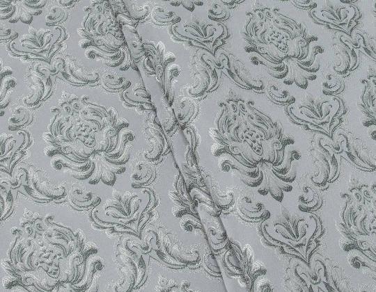 Портьєрна тканина Вензель Сеше  V-13 сірий