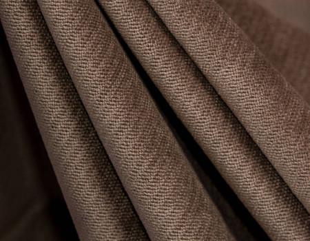 Портьєрна тканина Велюр V-10 світло коричневий