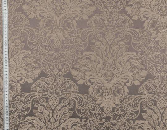 Портьєрна тканина Вензель атлас VA-14 какао