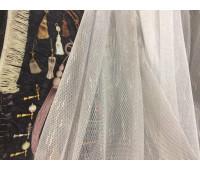 Тюль-сітка 2267, коричневий