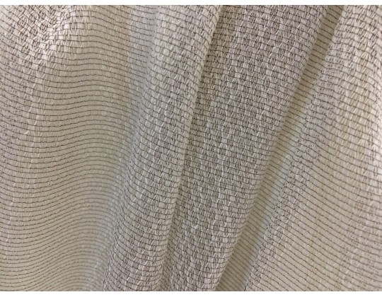 Гардинне полотно Тюль-сітка 2272, коричневий