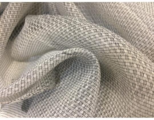 Гардинне полотно Тюль-сітка 2272, сірий