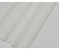 Гіпюр Горошок T-1 молочний