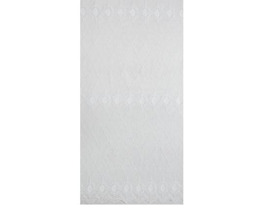 Гардина Вишивка R-14 біло-молочний