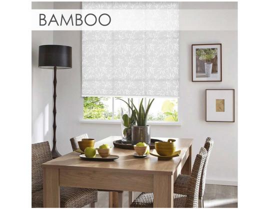 Рулонні штори Bamboo, White