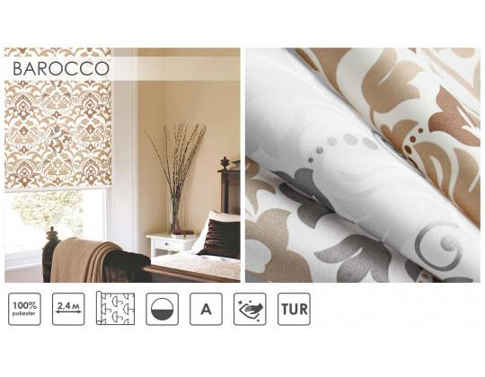 Рулонні штори BAROCCO 01, Silver