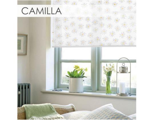 Рулонні штори Camilla yellow