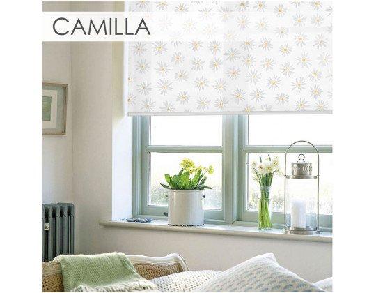 Рулонні штори Camilla white
