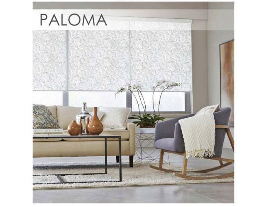 Рулонні штори Paloma white